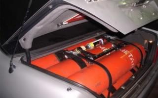 Правила перевозки газовых баллонов в легковом автомобиле