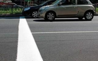 Штраф за пересечение стоп линии на светофоре