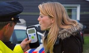 Процедура проверки на алкоголь сотрудником ДПС